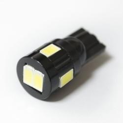 LED Galaxy HP T10 W5W 6SMD 3.0W white
